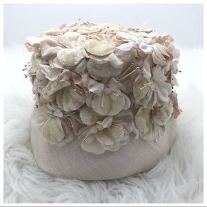 Vintage Floral Hat